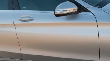 Used Mercedes C-Class Mk4 - side detail
