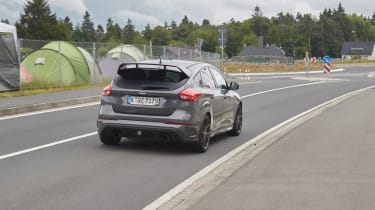 Ford Focus RS500 mule rear