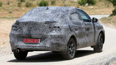 Renault Kadjar coupe-SUV - spyshot 7