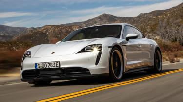 Porsche Taycan 4S - front