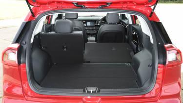 Kia Niro vs Toyota Prius - Kia Niro boot