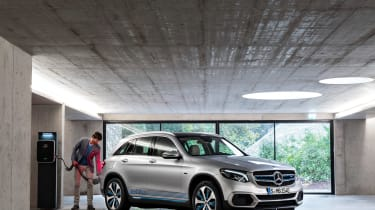 Mercedes GLC F-Cell - refuel