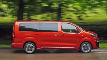 Vauxhall Vivaro Life 2019 side