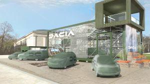 Dacia Lodgy teaser
