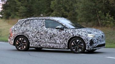 Audi Q4 e-tron - spyshot 3