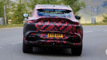 Aston Martin DBX S - spyshot 7