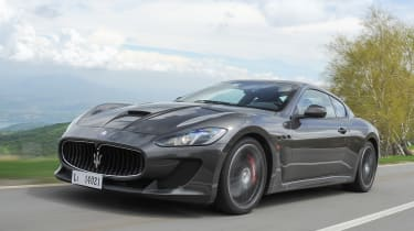 The gorgeous looking Maserati GranTursimo.