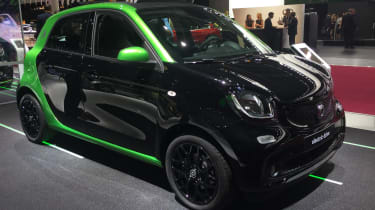 Smart ForFour electric drive - Paris front