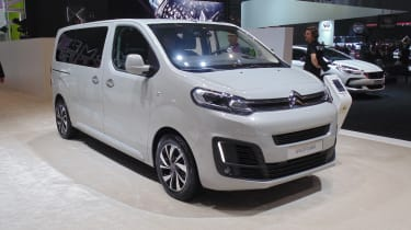 Citroen SpaceTourer Geneva - front three quarter