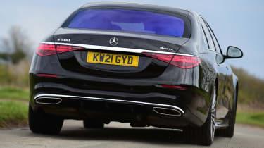 Mercedes S-Class - rear cornering