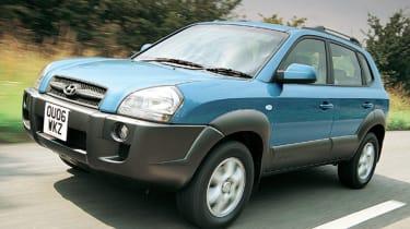 Front view of Hyundai Tucson FCEV