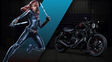 Harley Davidson Marvel Super Hero Customs - Black Widow Solitary
