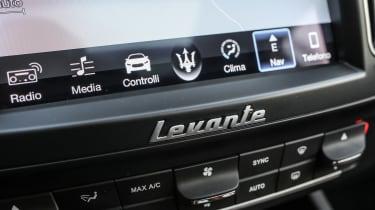 Maserati Levante - interior detail