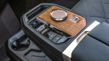 BMW iX prototype - centre console