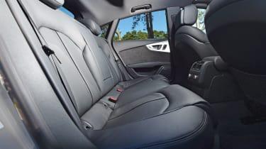 Audi RS7 Performance - rear seats