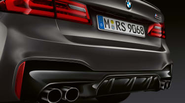 BMW M5 Edition 35 Years - exhausts