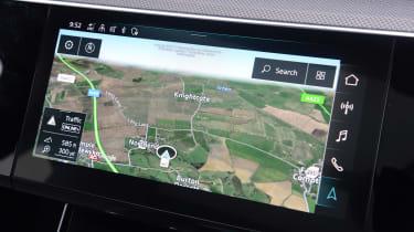 Audi e-tron S - sat-nav