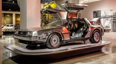Petersen Automotive Museum  - DeLorean Back to the Future