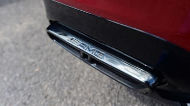 Mercedes-AMG E 63 S - exhaust