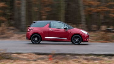 DS 3 Performance Line 2017 - side tracking