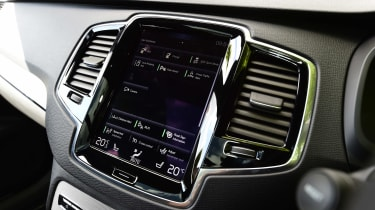Volvo XC90 long-term test - central infotainment