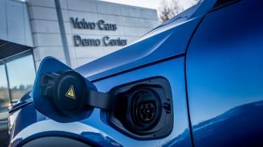 Volvo XC40 T5 Twin Engine - charging port