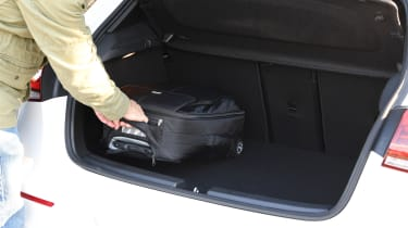 Mercedes A-Class long-term test review - luggage in boot