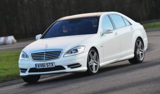 Mercedes A-Class front cornering