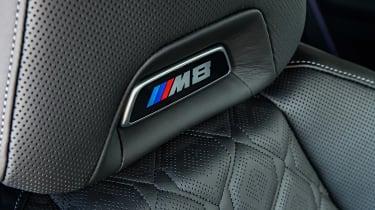 BMW M8 - seat detail