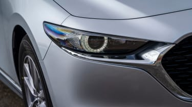 Mazda 3 saloon - headlight