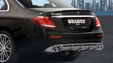 Mercedes E-Class Brabus 2017 - rear detail 2
