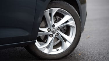 Vauxhall Astra - wheel detail