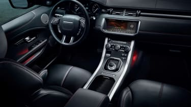 Range Rover Evoque Ember interior