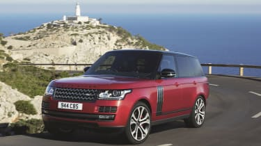 Range Rover - Footballers' cars
