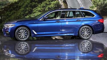 New BMW 5 Series Touring - Geneva side