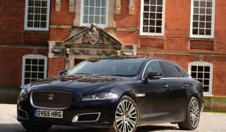 Used Jaguar XJ - front