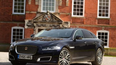 Used Jaguar XJ - front