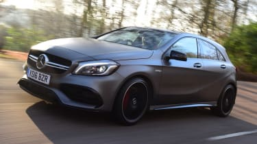 Mercedes-AMG A 45 - front