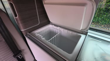 Volkswagen California Ocean long termer - first report fridge