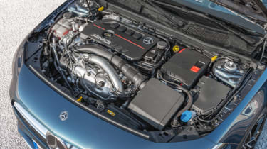 Mercedes-AMG A 35 Saloon - engine