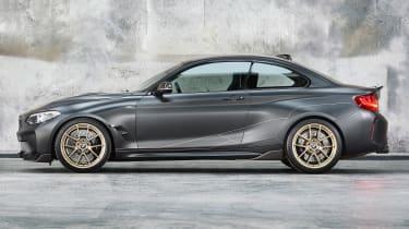 BMW M Performance Parts M2 side profile