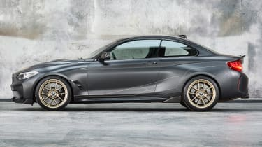 BMW M Performance Parts M2 side profile