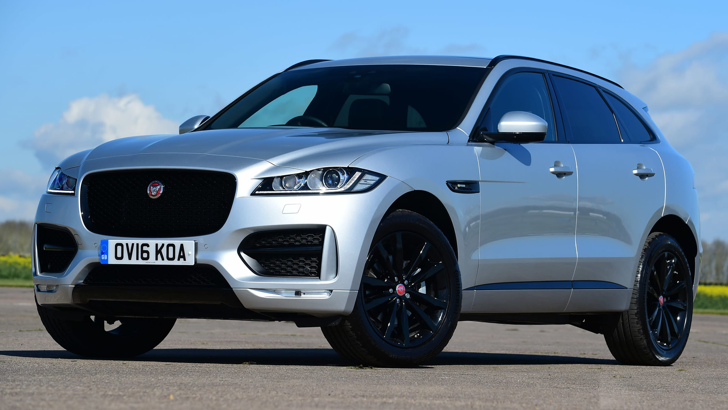 Used Jaguar F Pace Review Auto Express