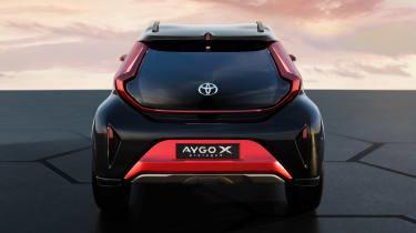 Toyota Aygo X prototype - full rear static