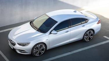 New Vauxhall Insignia Grand Sport - above static