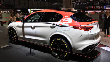 Alfa Romeo Stelvio Quadrifoglio F1 Edition - Geneva rear