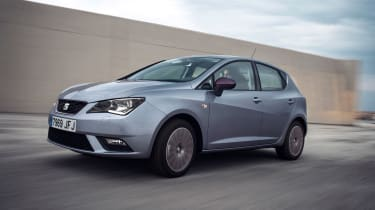 SEAT Ibiza 2015 facelift - front tracking