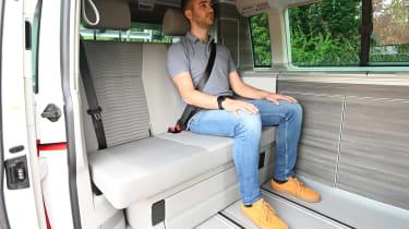 Volkswagen California Ocean long termer - first report rear seat