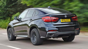 Used BMW X6 - rear tracking