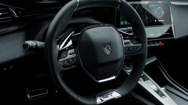 Peugeot 308 - steering wheel